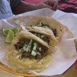 Carnes asida tacos