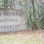 Fort Frederica: Welcome to Fort Frederica sign