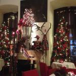 Romantische Weihnachtsdekoration