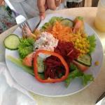 Light Salad Lunch