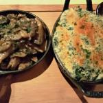 Creamed Spinach & Sauteed Mushrooms