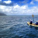 kayaking on Kaneohe Bay