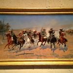 Frederick Remington - A Dash for the Timber