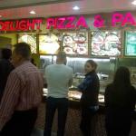 Inside Peachtree Center Mall
