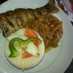 Yassa fish. Relais Sportif Restaurant