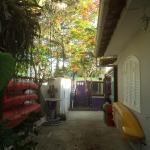 Entrada do Hostel