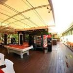 terraza de hostal