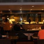 The restaurant -inside