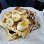 ORANG BELANDA Art Café, Melaka: Banana & Chocolate Waffles