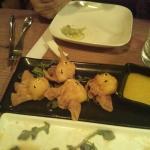 Shrimp and Mango Won Ton