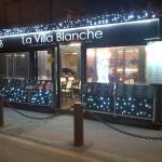 Villa Blanche Décoration Noël