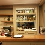 The bar beside reception