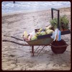 Beach Vendors are not very pushy
