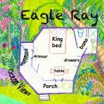 Eagle Ray cabana