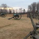 artillery position