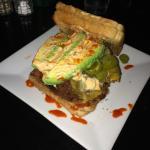 Connie burger (vegetarian)