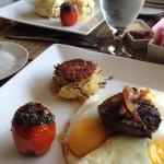 The Salmon Benedict and the Manhattan Breakfast