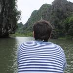 """En el rio Tam Coc o """"la Halong seca"""""""
