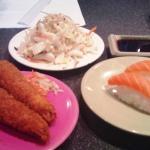 Sushi Club - Exemple d'assiettes au tapis roulant