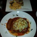 Chicken  Capresee & Lasagna.