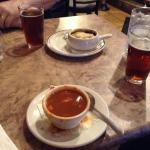 christmas beers, french onion and turtle soup.