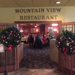 It's Christmas time again at Mountain View Restaurant!!