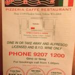 Gino's Spaghetti Bar