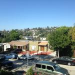 Classic LA day, view from Villa 1501