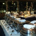 The Friday dinner buffet at the Chalet Royal.