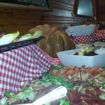 Friday dinner buffet
