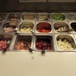 Viandes, poissons et légumes pour fondue et Wok