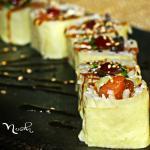 Futomaki  con alga de soja