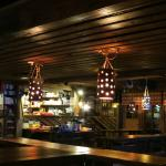 The rustic bar