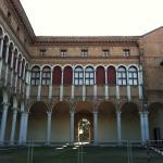 Cortile del Palazzo sede del Museo Archeologico di Ferrara