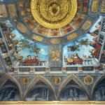 Soffitto della Sala del Tesoro a Palazzo Costabli