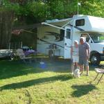 Full-service RV sites