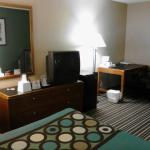 Room 120: TV & Desk