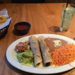 Tacos al Carbon and Patron Mojito
