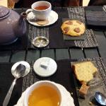 Thé et gateaux