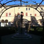 Veduta dal giardino del Palazzo di Lodovico Il Moro