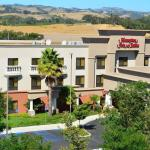 The beautiful Hampton Inn in Paso Robles