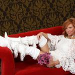 this is the one of many photos on the red couch that can be shown to the public w/o showing my b