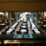 Interior del restaurante La Gare