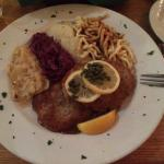 Wiener Schnitzel - very good!