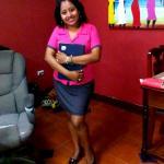 Our Receptionist Ms. Myra