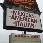Mamma's restaurant sign - Bedford, IN - 2014