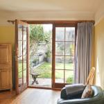 Elmtree Cottage open onto a wonderful country garden