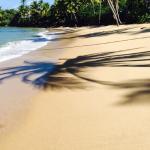 idyllic beach.
