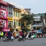 Hang Gai Street (Street of Hemp) Foto