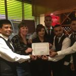 Voted the Best Indian restaurant in Suffolk for 2014